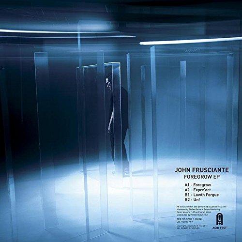 John Frusciante Foregrow EP back